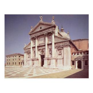 Cartão Postal Vista da fachada, construída 1607-11