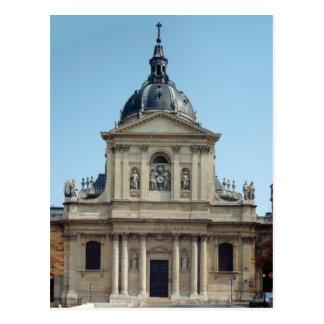 Cartão Postal Vista da fachada, construída 1635-42