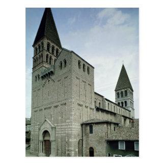 Cartão Postal Vista da fachada ocidental, 10o-11o século
