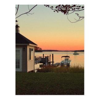 Cartão Postal Vista da grande baía
