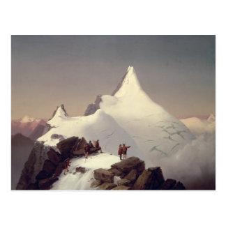 """Cartão Postal Vista da montanha de """"Grossglockner"""""""