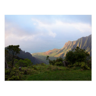 Cartão Postal Vista da parte superior, Waimea