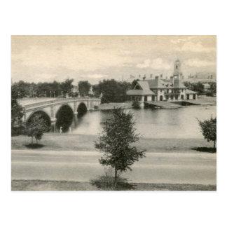 Cartão Postal Vista de Cambridge, vintage das MÃES