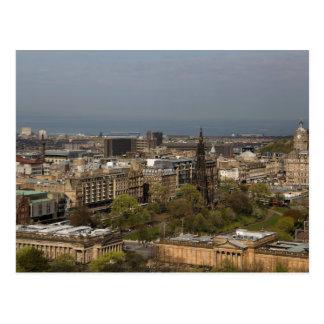 Cartão Postal Vista de Edimburgo