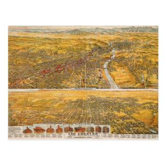 Cartão Postal Vista de Los Angeles, 1894