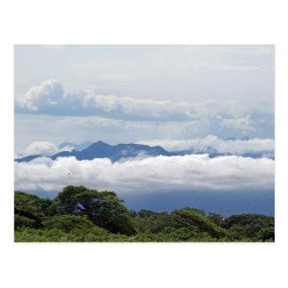 Cartão Postal Vista de montanhas de Puerto Vallarta