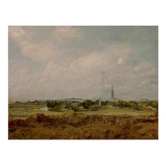 Cartão Postal Vista de Salisbúria
