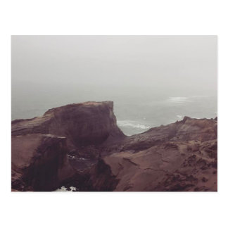 Cartão Postal vista de um monte litoral