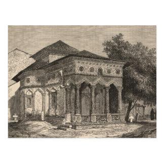 Cartão Postal Vista de uma igreja em Bucareste