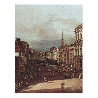 Cartão Postal Vista de Viena, mercado da farinha do sudoeste