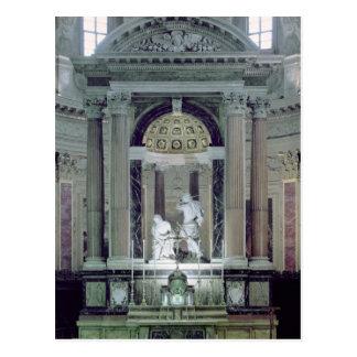 Cartão Postal Vista do altar alto