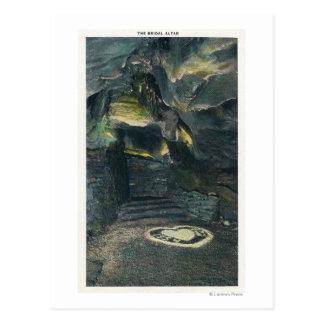 Cartão Postal Vista do altar nupcial