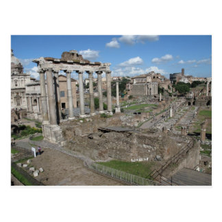Cartão Postal Vista do fórum romano do ANÚNCIO 179