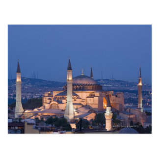 Cartão Postal Vista do Haghia Sophia