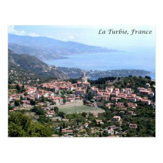 Cartão Postal Vista do La Turbie, France