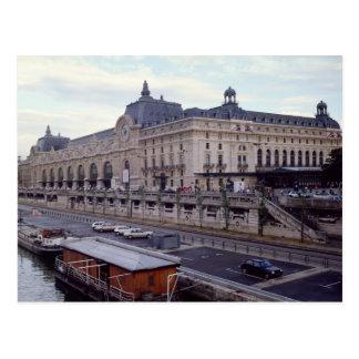 Cartão Postal Vista do Musee d'Orsay do noroeste