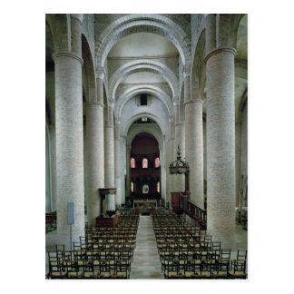 Cartão Postal Vista do nave, olhando para o altar