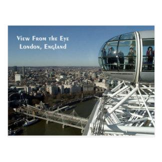 Cartão Postal Vista do olho