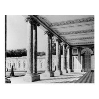 Cartão Postal Vista do peristyle e da esquerda do Trianon