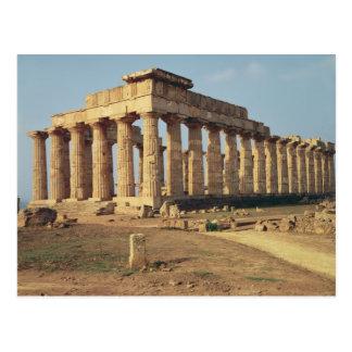 Cartão Postal Vista do templo E, c.490-480 BC