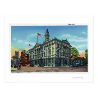 Cartão Postal Vista exterior da câmara municipal 3