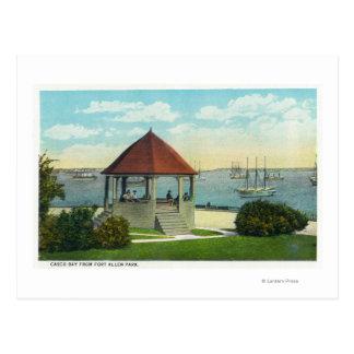 Cartão Postal Vista exterior da pérola da ilha de Orr