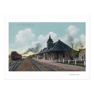 Cartão Postal Vista exterior do depósito Boise de OSL,