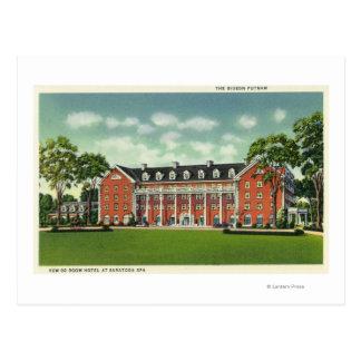 Cartão Postal Vista exterior do hotel de Gideon Putnam