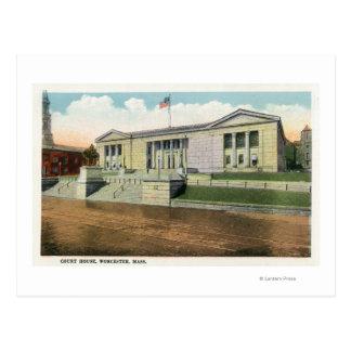 Cartão Postal Vista exterior do tribunal