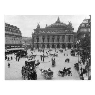 Cartão Postal Vista geral do teatro da ópera de Paris