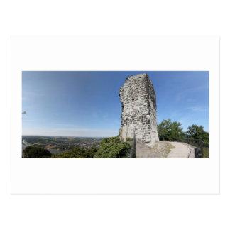 Cartão Postal Vista panorâmica de Drachenfels