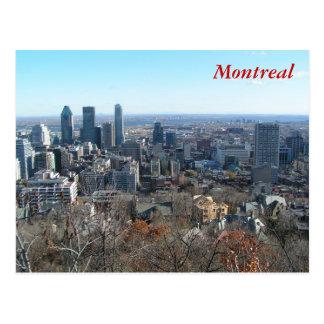Cartão Postal Vista panorâmica de Montreal