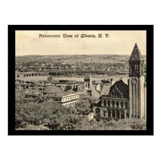 Cartão Postal Vista panorâmica, vintage 1910 de Albany