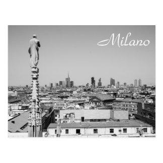 Cartão Postal Vista para fora em Milão