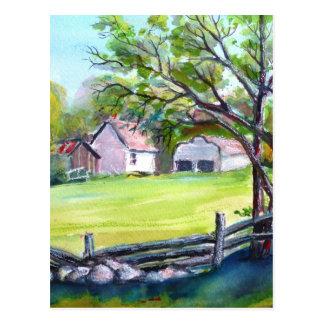 Cartão Postal Vista pastoral