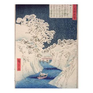 Cartão Postal Vistas de Edo