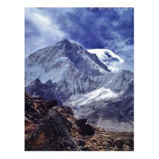Cartão Postal Vistas de Nepal na maneira a MONTE EVEREST
