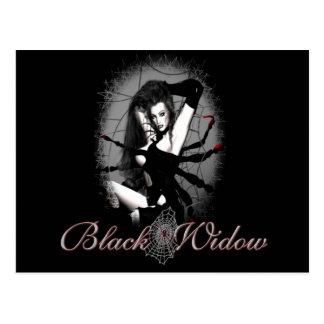 Cartão Postal Viúva negra