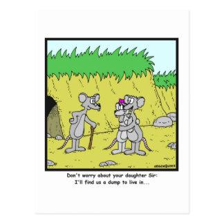Cartão Postal Viva em uma descarga: Desenhos animados do rato