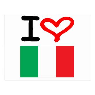 Cartão Postal Viva Italia!