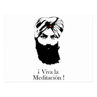 Cartão Postal viva_la_meditacion_hari_karan