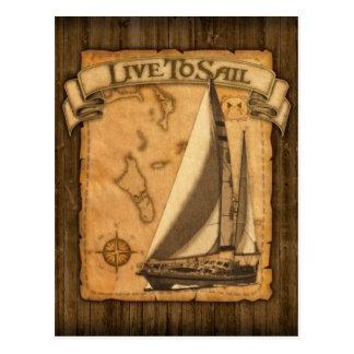 Cartão Postal Viva para navegar