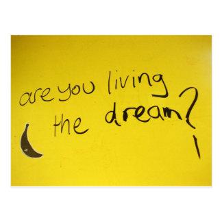 Cartão Postal Vivendo o sonho