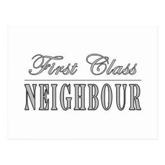 Cartão Postal Vizinho da primeira classe dos vizinhos