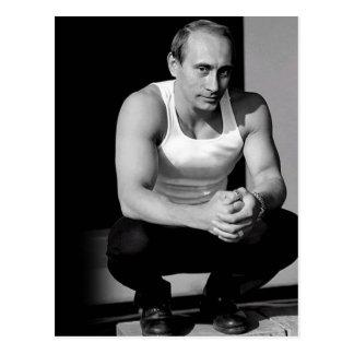 Cartão Postal Vladimir Putin