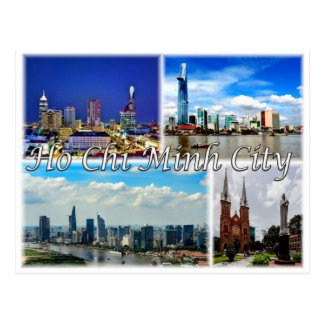 Cartão Postal VN Vietnam - Ho Chi Minh City -