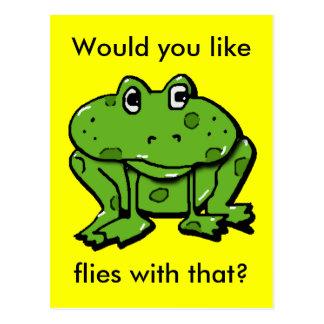 Cartão Postal voa com isso