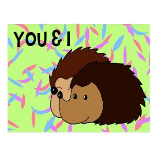 Cartão Postal Você & I