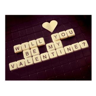Cartão Postal Você será meus namorados?