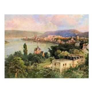 Cartão Postal Von Astudin, Boppard am Rhein